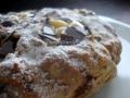 Torta con farina di Manitoba con Crema al limone Vegan