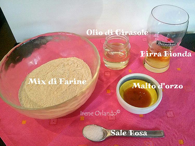 Pasta Brisè Vegan senza burro - Ingredienti di base il per il prodotto