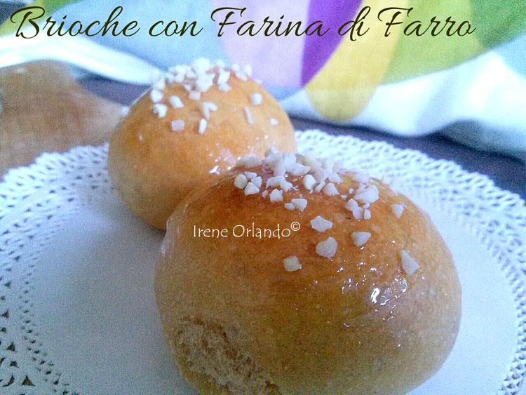 Ricetta delle Brioches Vegan all'Olio d'Oliva - Farina di Farro