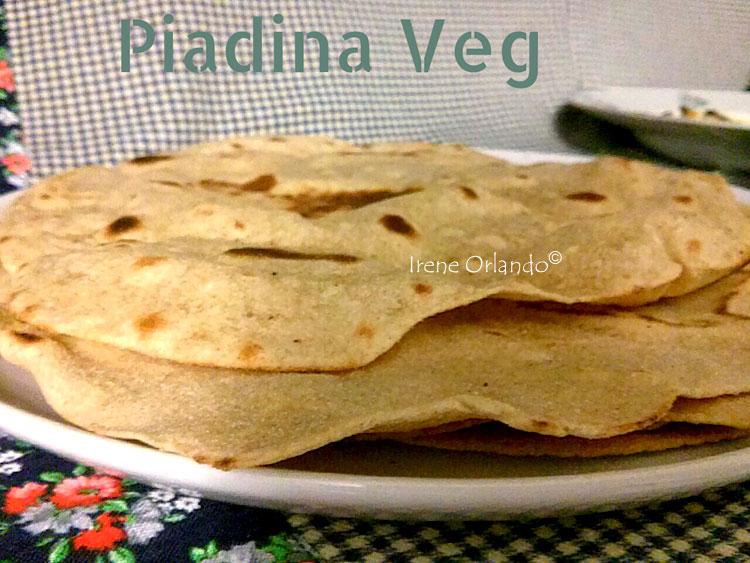 Ricetta delle Piadine Vegan con Farina di Russello o Perciasacchi