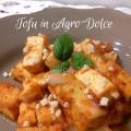 Ricetta del Tofu in AgroDolce