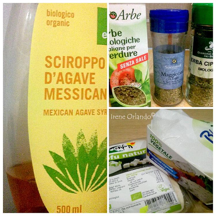 Ricetta del Tofu in Agrodolce - Ingredienti