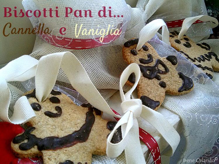 Ricetta dei Biscotti Pan di Zenzero con Cannella e Vaniglia Vegan