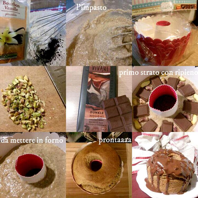 Ricetta della Torta Panettone Vegan - Pistacchi e Gianduia - Ingredienti e procedimento