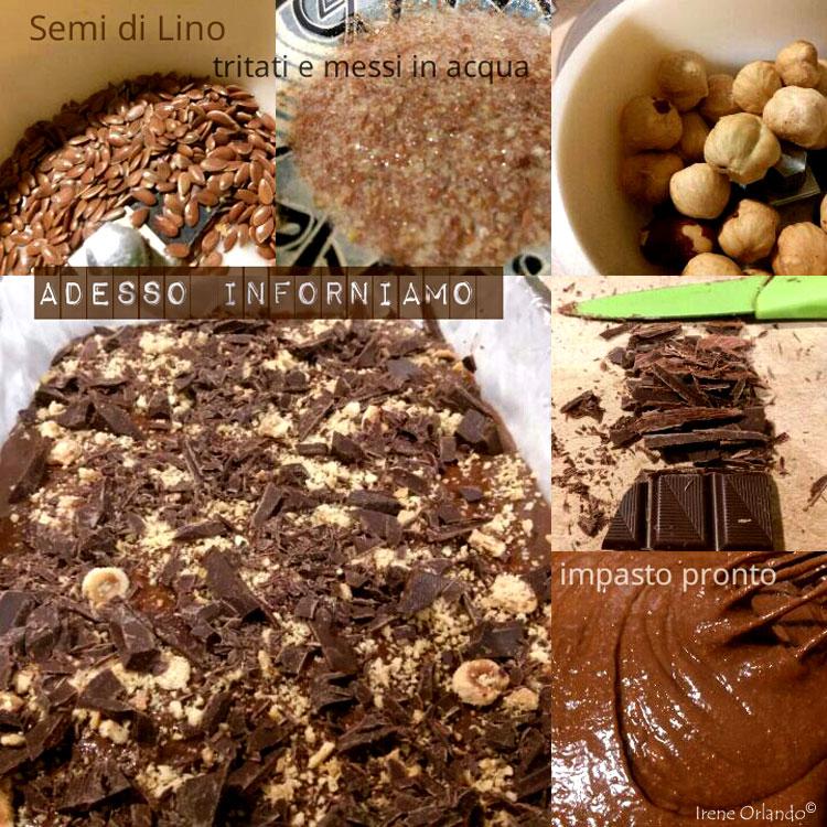 Ricetta dei Brownies Vegan - Senza burro e uova - Ingredienti e preparazione