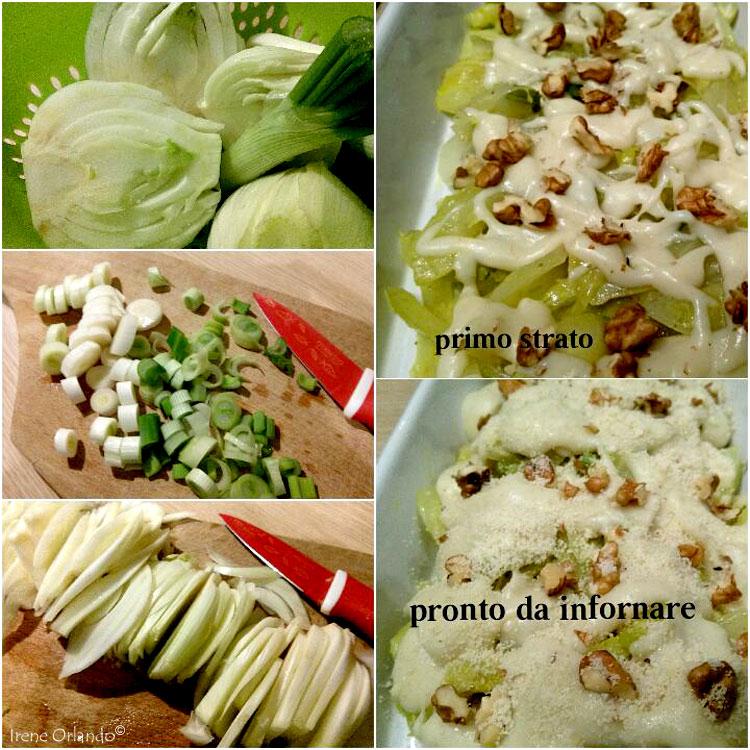 Ricetta dei Finocchi Gratinati con Bescamella Vegan e Farina di Mandorle - Ingredienti e Passaggi di preparazione