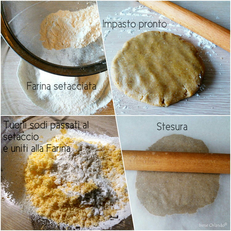 Frollini a forma di Margherita con zucchero di canna in polvere