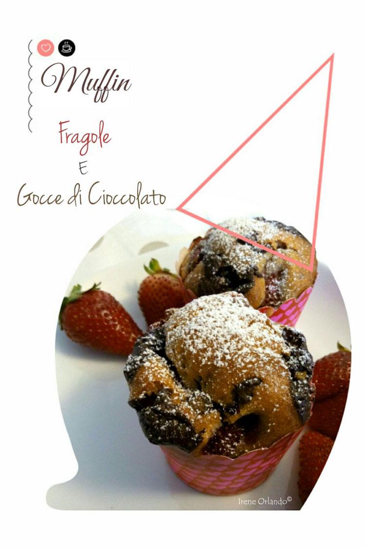 Ricetta dei Muffin Vegan con Fragole e Cioccolato