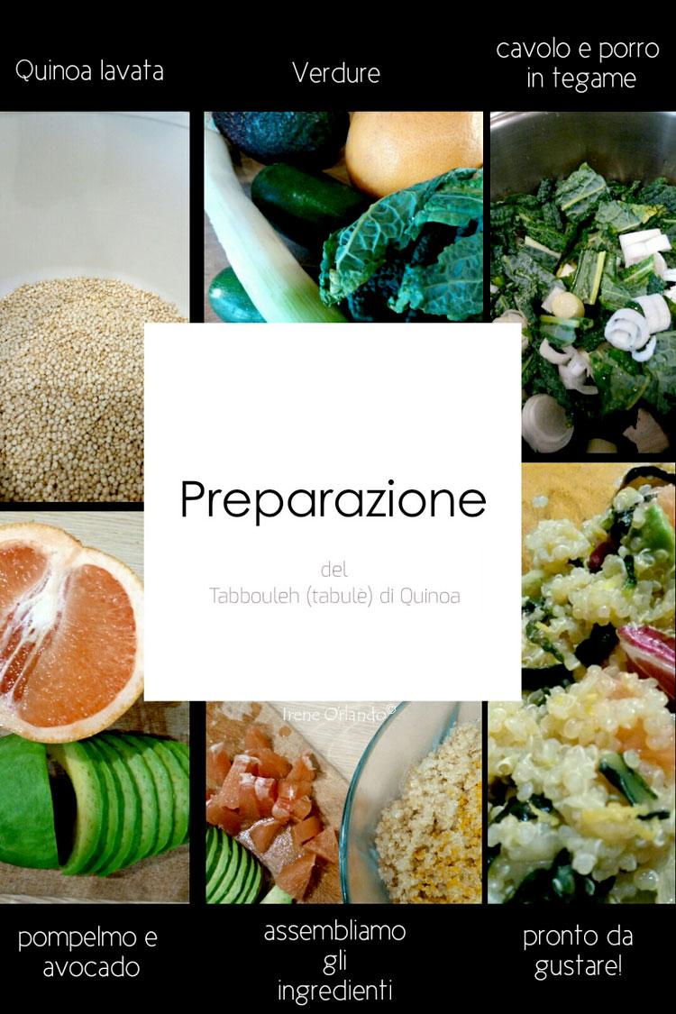 Ricetta del Tabulé di Quinoa con Verdure - Ingredienti e preparazione