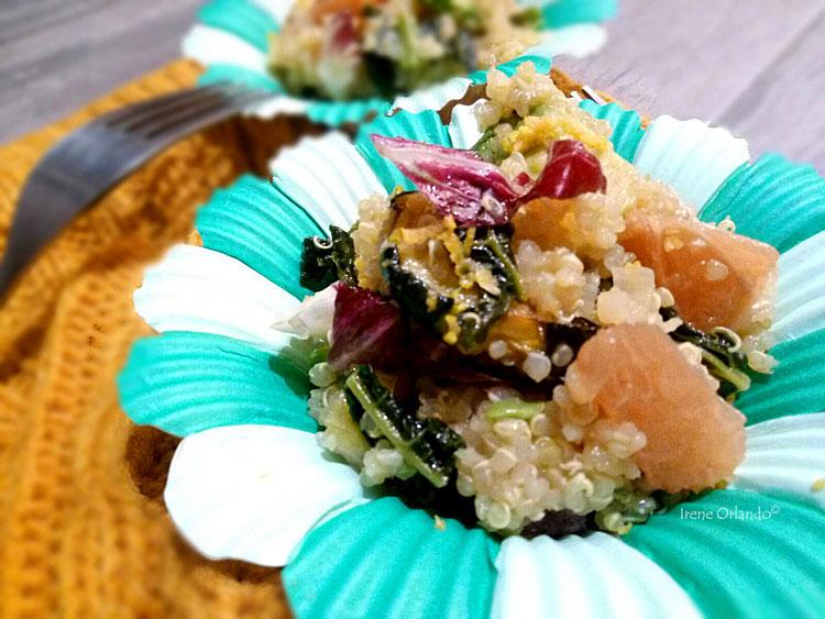 Tabulé di Quinoa con Verdure - In piatto o altro contenitore