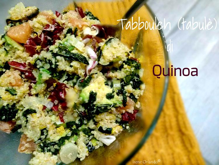 Ricetta del Tabulé di Quinoa con Verdure